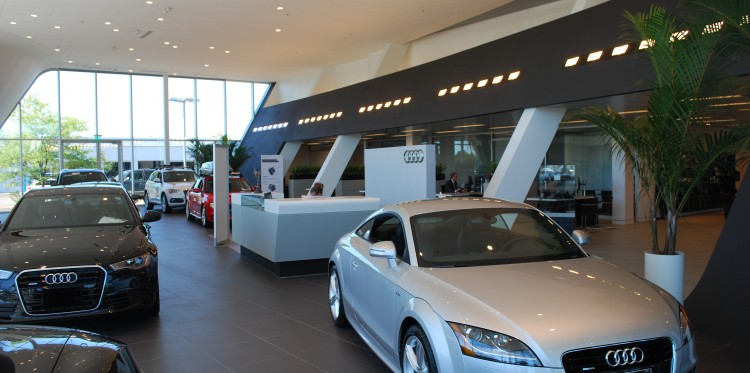 Audi Milwaukee - Interior by Madisen Maher Architects