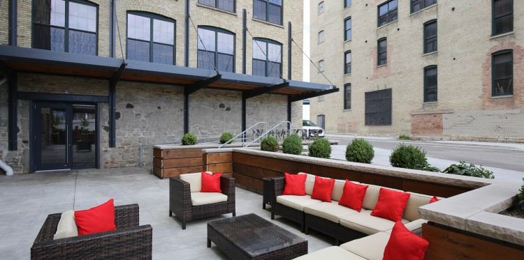 River Place Lofts by Madisen Maher Architects