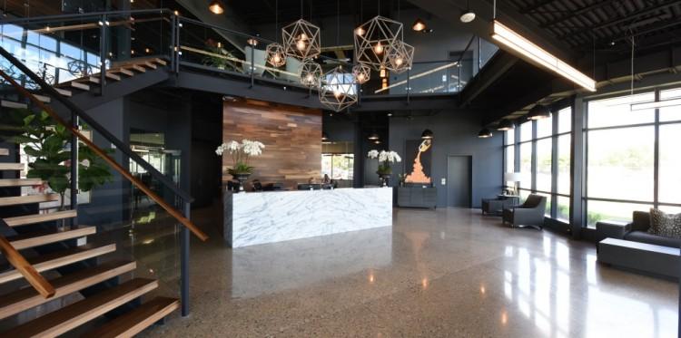 Sendik's Food Market Corporate Office Lobby by Madisen Maher Architects