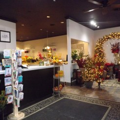 Full-service floral shop