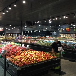 Enlarged Produce Department