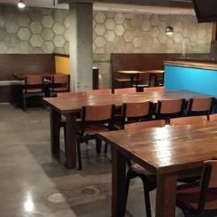 Inside the Beerline Cafe