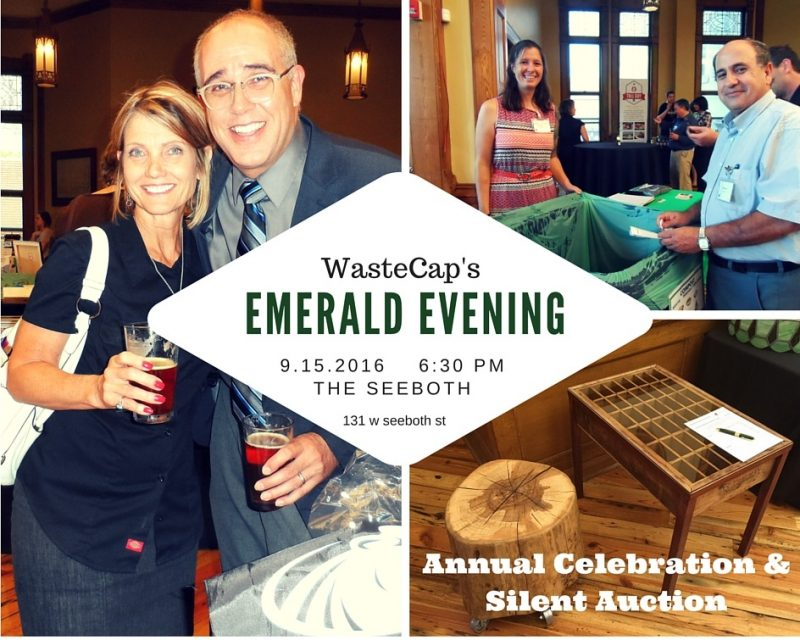MMA sponsors WasteCap's Emerald Evening September 15, 2016
