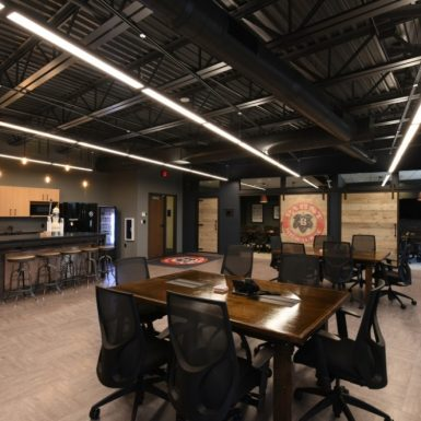 Pabst Brewing Company Meeting Room with Bar