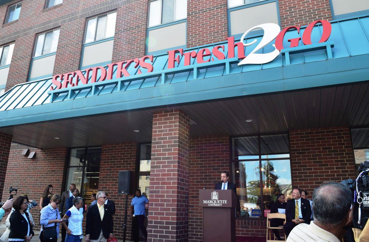 MMA congratulates client Sendik's Food Market Fresh2Go at Marquette University